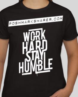 ladies poshmark sharer tee shirt